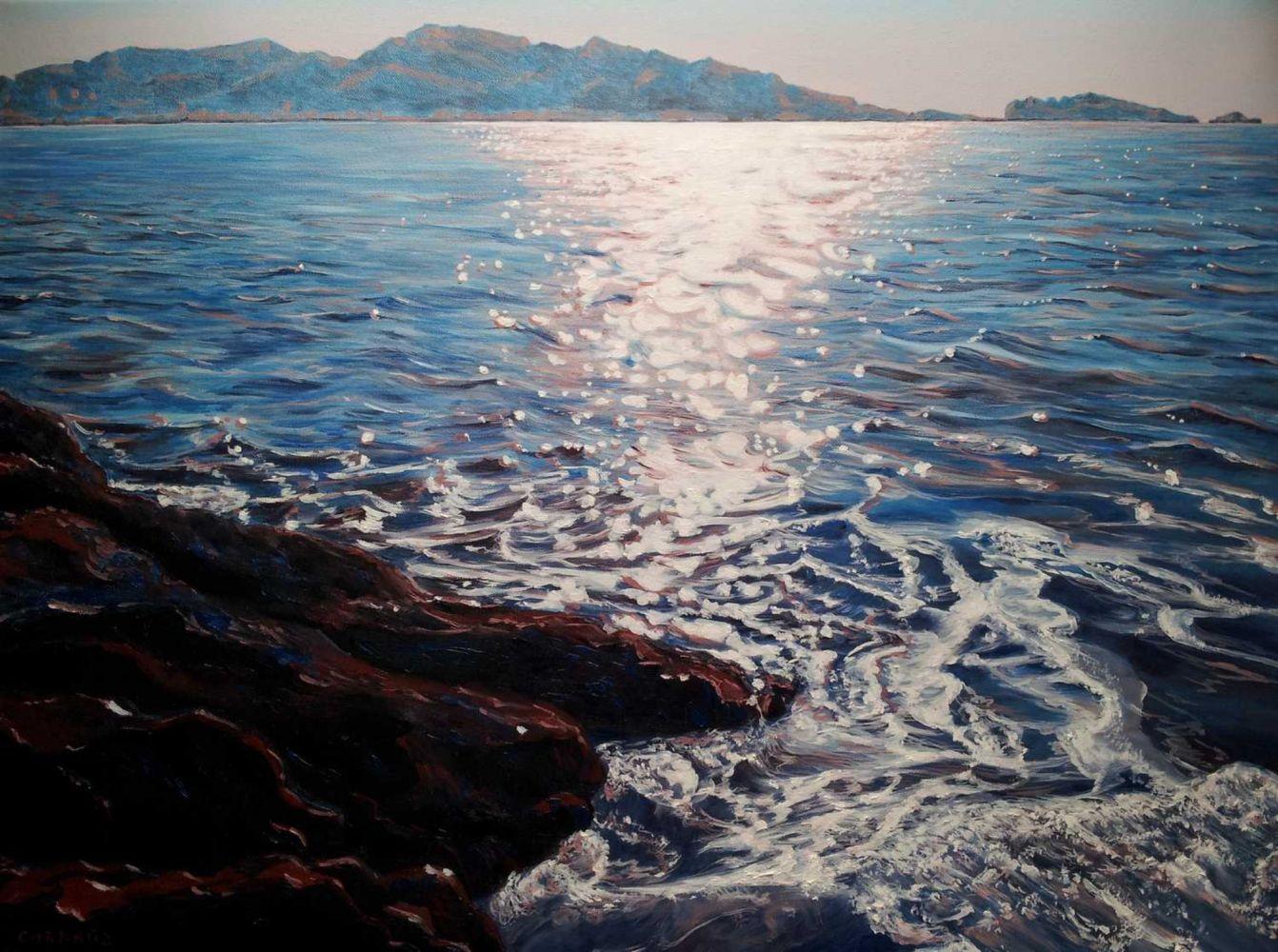 """""""MALMOUSQUE"""" Marseille 80 x 60 cm"""