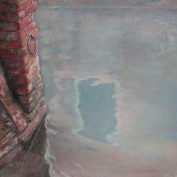 """""""FENETRE"""" huile sur toile 80 x 60 cm Martine Carraud"""