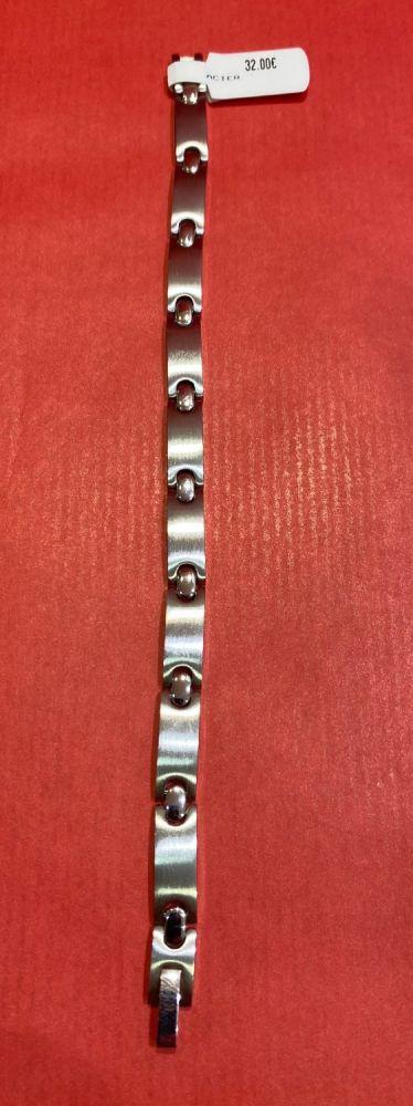 32€  bracelet acier